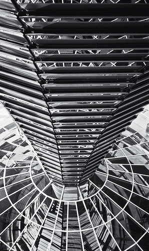 Central Element of Reichstag Dome, by Senex Prime